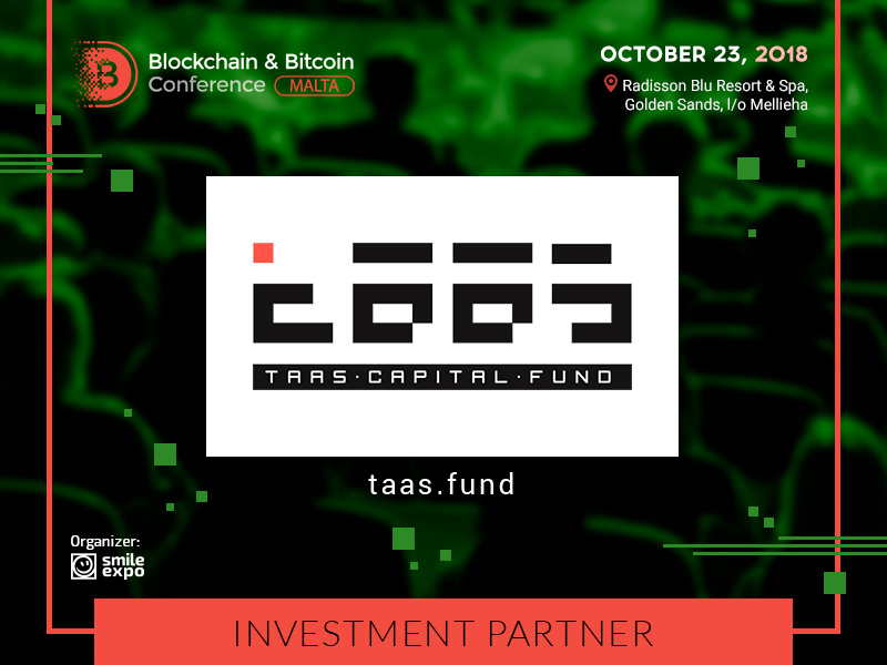 TaaS Capital Fund is a New Partner of the Blockchain & Bitcoin Conference Malta