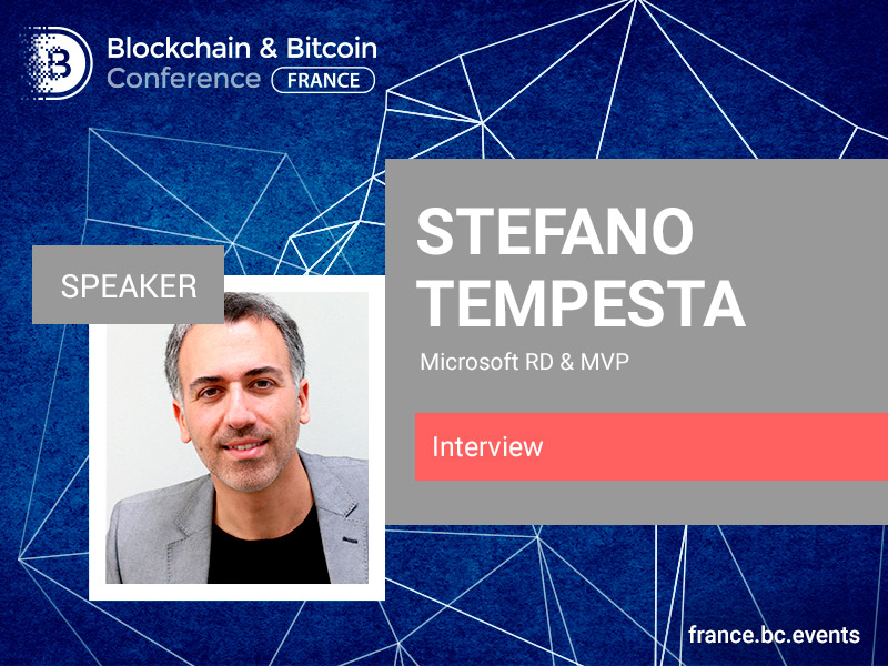 Technology applied to ideology: Stefano Tempesta to talk about blockchain future