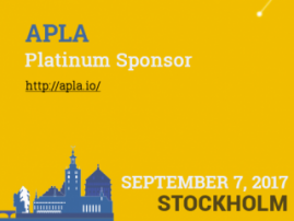 APLA blockchain platform to become Platinum Sponsor of Blockchain & Bitcoin Conference Stockholm