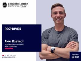 Aplikace pro ochranu dat budou v tomto roce nejaktuálnější – Alex Božinov, spoluzakladatel a marketingový ředitel Crowdholding