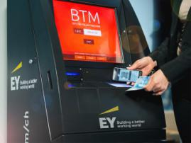 Bitcoin ATMs overtake traditional bank machines