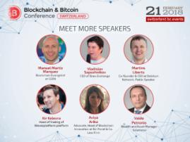 Blockchain & Bitcoin Conference Switzerland to discuss blockchain application in science