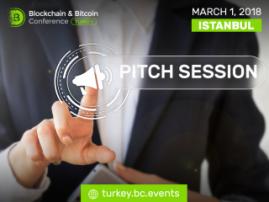 Blockchain & Bitcoin Konferansı Türkiye'de demonstrasyon alanının katılımcıları için pitch-session (hızlı sunum) düzenlenecektir
