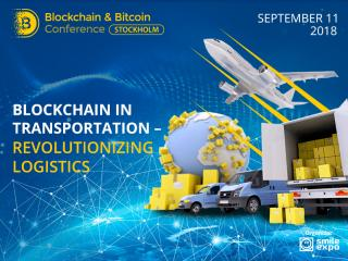 Blockchain in Transportation – Revolutionizing Logistics