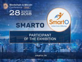 Check SmartO platform in the Blockchain & Bitcoin Conference Israel exhibition area