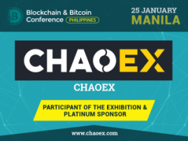 Conference Platinum Sponsor: Hong Kong cryptocurrency exchange – Chaoex.com