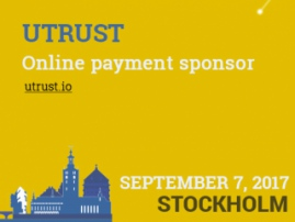 Conference sponsor of online payments – UTRUST, a reliable blockchain service for Internet payments