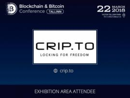 CRIP.TO will become a participant of Blockchain & Bitcoin Conference Tallinnn