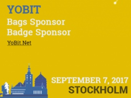 Crypto exchange is one of Blockchain & Bitcoin Conference Stockholm sponsors