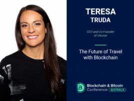 Discover the World with Blockchain! Teresa Truda, CEO and Co-Founder of chozun 途赞, Will Blockchain in Travel Industry