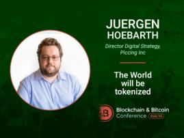 Global tokenization: future or utopia? Discover from Juergen Hoebarth at Blockchain & Bitcoin Conference Malta