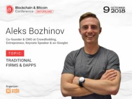 How Do Traditional Firms Start Using DApps? Answer from Co-Founder of Crowdholding Aleks Bozhinov