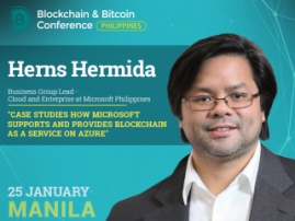 How Microsoft supports and provides Azure Solutions – presentation of Business Group Lead of Microsoft Philippines Herns Hermida