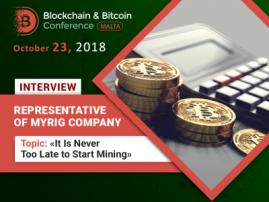 """It Is Never Too Late to Start Mining"" – MyRig"