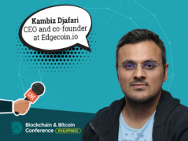 Kambiz Djafari: In 2018 we will see cryptocurrencies accepted across all levels of most societies