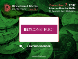 Major gambling software developer has become a sponsor of Blockchain & Bitcoin Conference Malta