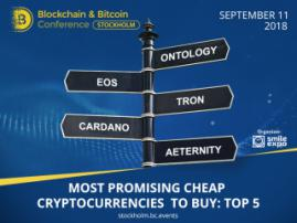 Most Promising Cheap Cryptocurrencies to Buy: Top 5