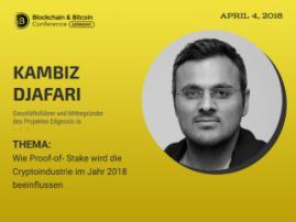Neuer Algorythmus des Konsensus: Sprecher von Blockchain & Bitcoin Conference Berlin Kambiz Djafari erzählt, wer von Veränderungen betroffen wird