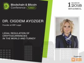 Av. Dr. Çiğdem Ayözger'in konuşmasında: FinTech ve kripto paralar sektörlerindeki Türkiye hukuklarına toplu bakış