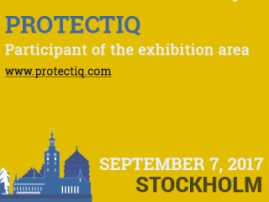 Protectiq: cancer fighter and exhibition area participant of Blockchain & Bitcoin Conference Stockholm