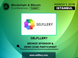 SELFLLERY is Bronze Sponsor of Blockchain & Bitcoin Conference Turkey