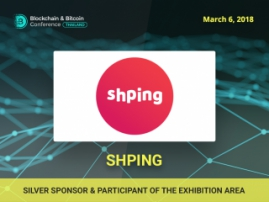 Silver Sponsor and exhibitor of Blockchain & Bitcoin Conference Thailand is Shping