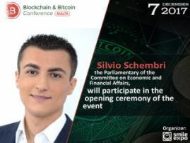 Silvio Schembri to hold opening speech at Blockchain & Bitcoin Conference Malta