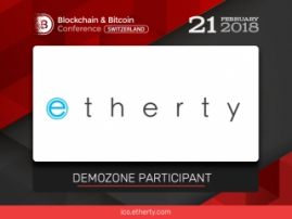 Smart contracts and blockchain tech in real estate: a project Etherty to be presented at the Blockchain & Bitcoin Conference Switzerland exhibition area