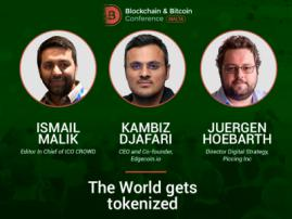 Speakers of Blockchain & Bitcoin Conference Malta to discuss global tokenization