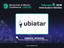 Sponsor of Blockchain & Bitcoin Conference Gibraltar – telepresence service Ubiatar