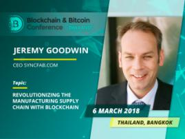 Supply Blockchains and Tokenization. Meet Jeremy Goodwin, an international finance technology expert