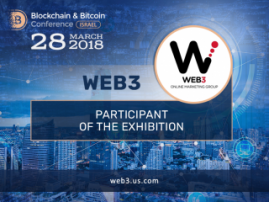 WEB3 Group is a participant of the exhibition area at Blockchain & Bitcoin Conference Israel