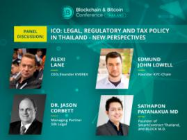What changes will ICO face in Thailand: four experts to discuss legislative novelties at Blockchain & Bitcoin Conference
