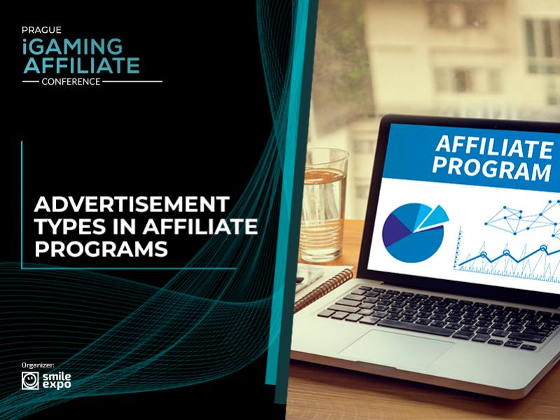 Affiliate programs: advertisement types