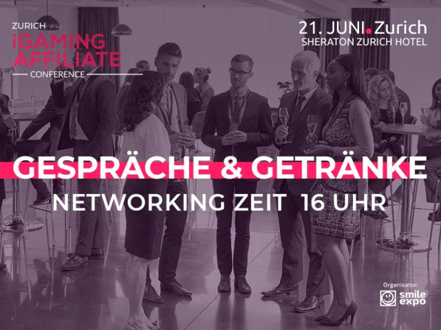 Afterparty auf Zurich iGaming Affiliate Conference – Zeit für produktives Networking