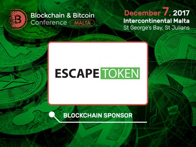 Aggregator of escape room games ESCAPETOKEN is a Blockchain Sponsor of Blockchain & Bitcoin Conference Malta