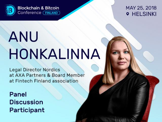 Anu Honkalinna from Fintech Finland Association Will Take Part in the Panel Discussion