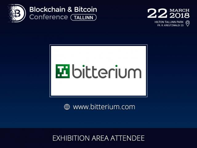 Bitterium will present mining products at Blockchain & Bitcoin Conference Tallinn