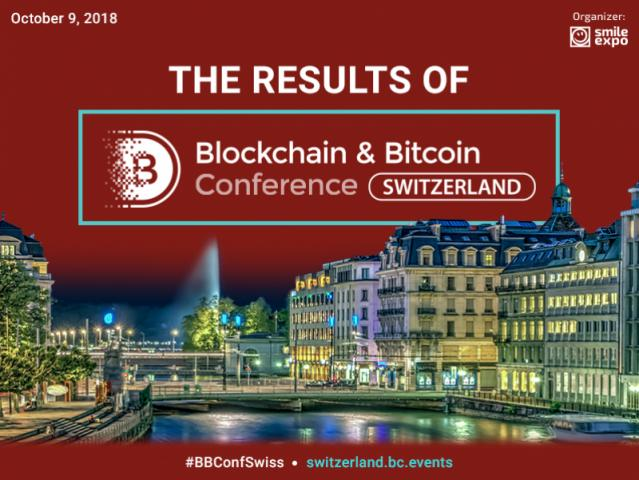 Blockchain & Bitcoin Conference Switzerland: Results of the Large Crypto Event in Geneva