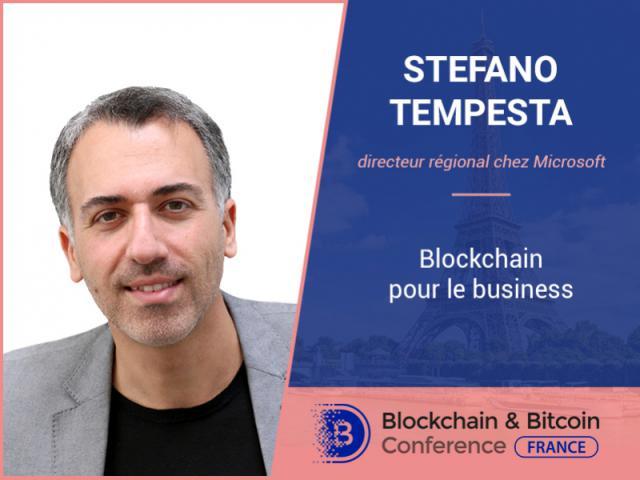 Blockchain pour le business – exposé de Microsoft RD Stefano Tempesta