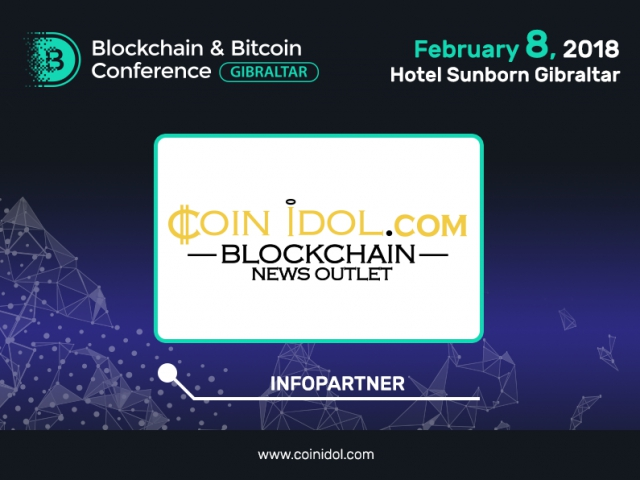 Coinidol.com, the news outlet trusted by ¼ million, joined Blockchain & Bitcoin Conference Gibraltar