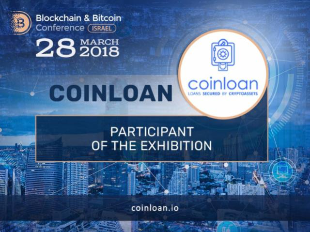 CoinLoan will exhibit at Blockchain & Bitcoin Conference Israel