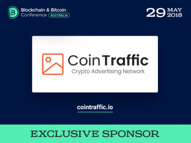Cointraffic Will Be a Sponsor at Blockchain & Bitcoin Conference Australia