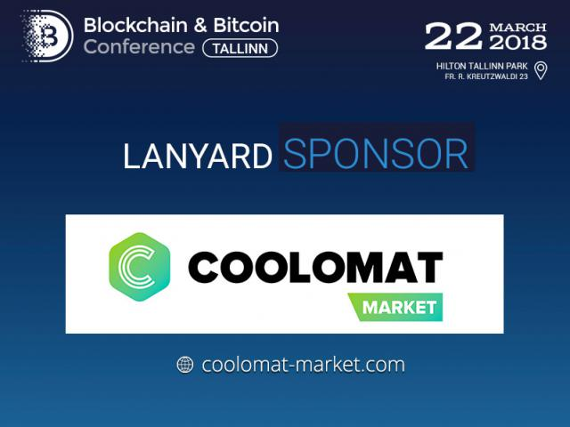 Coolomat Market will be a sponsor on Blockchain & Bitcoin Conference Tallinn