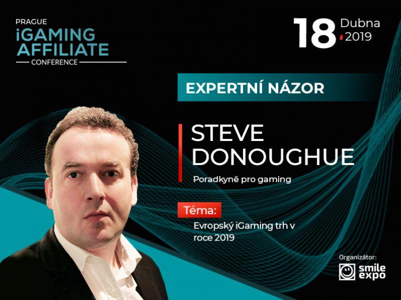 Evropský iGaming trh: expertní názor poradce na hazard Steva Donoughuea