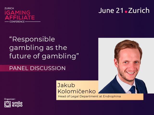 Expert lawyer Jakub Kolomičenko: participant of responsible gambling discussion