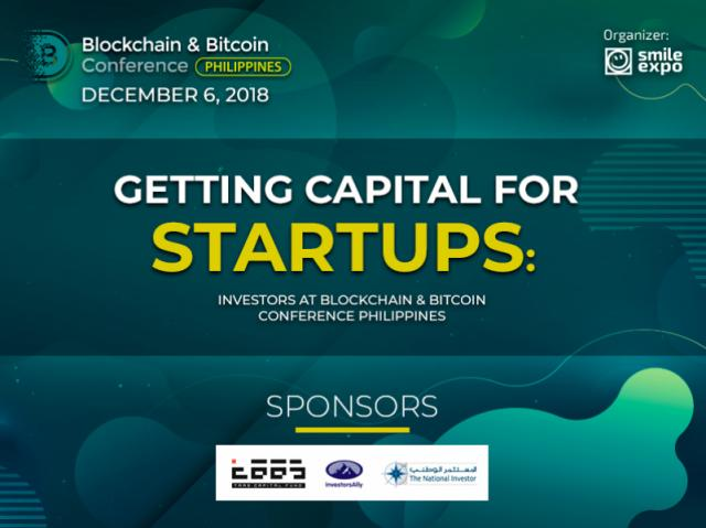 Getting Capital for Startups: Investors at Blockchain & Bitcoin Conference Philippines
