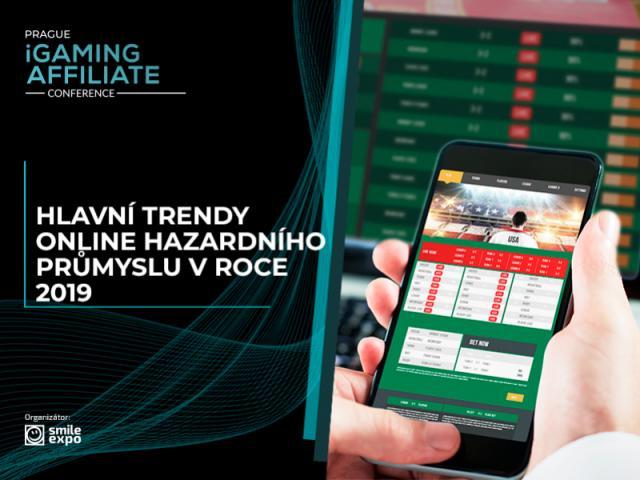 Hlavní trendy online hazardního průmyslu v roce 2019