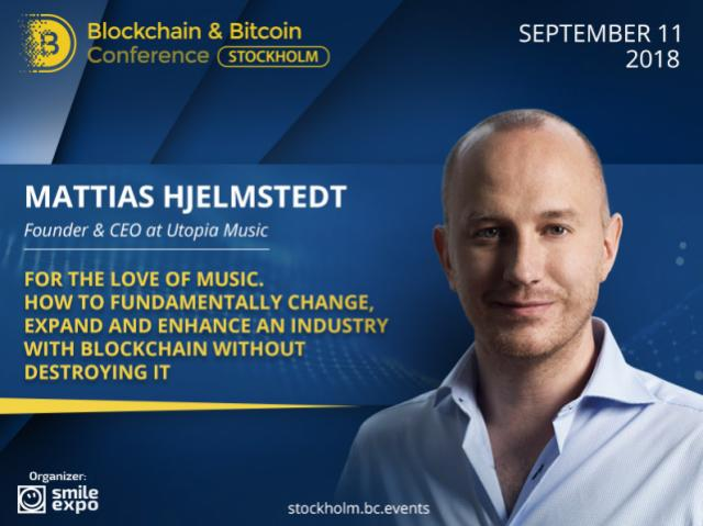 How Can Blockchain Benefit Music Industry? Answer from Founder & CEO at Utopia Music Mattias Hjelmstedt