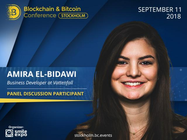 How Can Blockchain Improve Energy Sector? Answer from Business Developer at Vattenfall Amira El-Bidawi